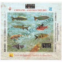 B113 - China 99  - Ano do Coelho - 1999 - MINT