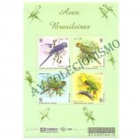 B119 - Aves Brasileiras - 2001 - MINT