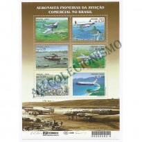 B122 - Aeronaves Pioneiras no Brasil - 2001 - MINT