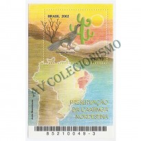 B126 -  Preservação da Caatinga Nordestina - 2002 - MINT