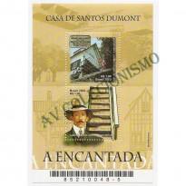 B127 -  Casa de Santos Dumont - 2002 - MINT