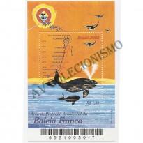 B128 -  Areá de Preservação da Baleia Franca- 2002 - MINT