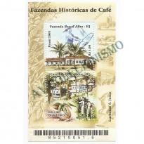 B130 - Fazendas Históricas de Cafe - 2003 - MINT