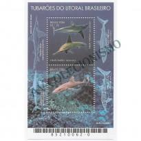 B144 - Tubaroes do Litoral Brasileiro - 2006 - MINT