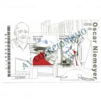 B147 - Obras de Oscar Niemayer - 2008 - MINT
