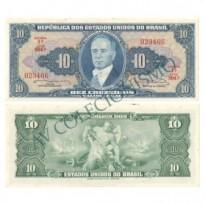 C020 - 10 Cruzeiros - 1963 - FE
