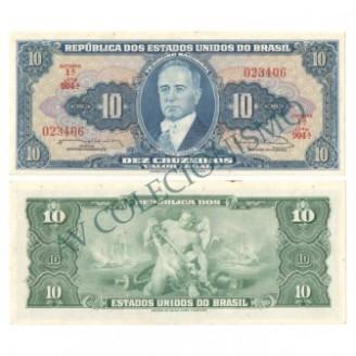 C020 - 10 Cruzeiros - 1963 - SOB/FE