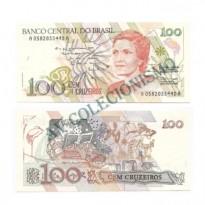 C214 - 100 Cruzeiros - 1990 - FE