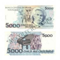C219 - 5000 Cruzeiros - 1990 - FE