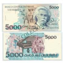 C221 - 5000 Cruzeiros - 1993 - FE