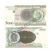 C222 - 5000 Cruzeiros - 1990 - FE