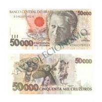 C226 - 50000 Cruzeiros - 1992 - FE