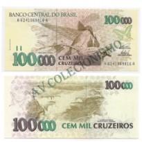 C229 - 100000 Cruzeiros - 1993 - FE