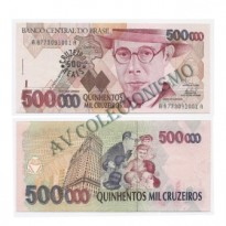 C236 - 500 Cruzeiros Reais - 1993 - SOB