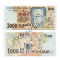 C238 - 1000 Cruzeiros Reais - 1993 - FE