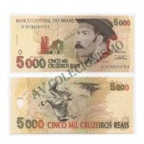 C239 - 5000 Cruzeiros Reais - 1993 - SOB