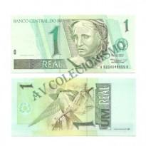 C245 - Cédula Brasil - 1 Real - 1995 - FE