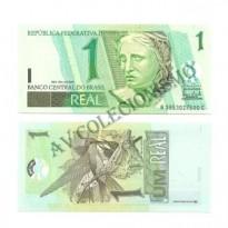 C254 - Cédula Brasil - 1 Real - 2003 - FE