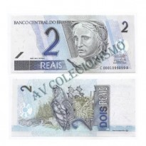 C260 - Cédula Brasil - 2 Reais - 2009 - FE