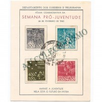 FA-01 -  Semana Pro-Juventude com Selos  - 1940