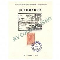 FA-13 -  Exposição Filatélica SULBRAPEX - 1949