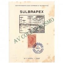 FA-13U -  Exposição Filatélica SULBRAPEX - 1949