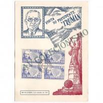 FP-006 - Visita do Presidente Truman  - 1947