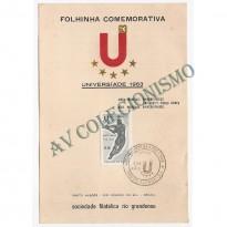 FP-017 - Jogos Mundiais Universitários - 1963