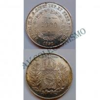 MAR 448 - Moeda 1000 réis - Prata - 1852 - SOB