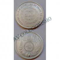 MAR 452 - Moeda 500 réis - Prata - 1851 - SOB