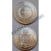MPR 608 - Moeda 1000 réis - Prata - 1860 - SOB