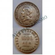 MPR 687 - Moeda 1000 réis - Prata - 1907 - SOB