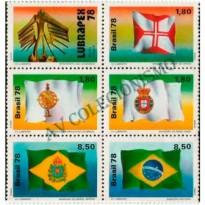SCS1055 - LUBRAPEX - Bandeiras Historicas - 1978