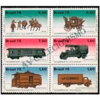 SCS1060 - Evolução dos Transportes Postais - 1978
