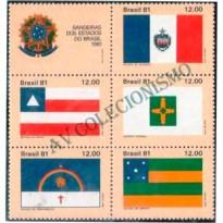 SCS1231 - Bandeiras dos Estados Brasileiros - 1981