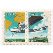 STC1399 - Cinquentenário do 1 Voo - Transoceânico - 1984