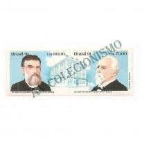 STC1763 - 150 anos do nascimento - Campos Sales - Prudente de Moraes - 1991
