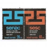 STC0715 - 25 Anos do -SENAC-SESC - 1971